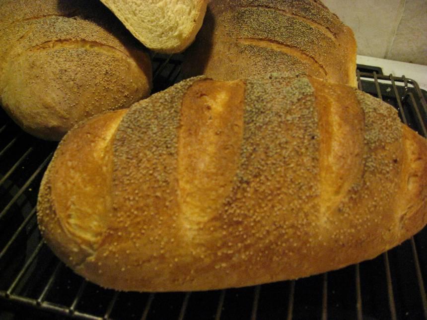 Fyra fina franskbröd